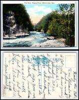 CANADA Postcard - Quebec, Sherbrooke, The Gore, Magog River P50