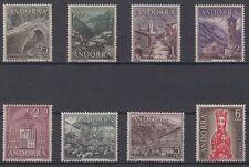 ANDORRA ESPAÑOLA (1963/64) AÑO COMPLETO NUEVO MNH SPAIN - EDIFIL 60/67