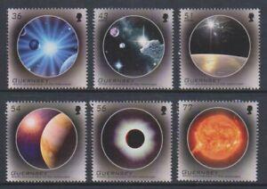 Guernsey - 2009, Europa, Astronomy, Space set - MNH - SG 1284/9