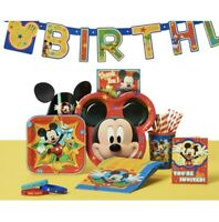MICKY MOUSE Party Supplies, Favors, Decorations Bundles (See Selections) NEW