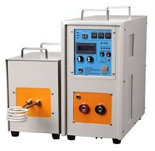 30 KW 30-80 KHz High Frequency Induction Heater Furnace LH-30AB