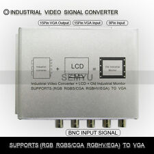 SG-VC100 Industrial  Video  Signal  Converter  RGB RGBS/CGA RGBHV/EGA to VGA