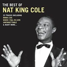 CD Best of Nat King Cole Smile Mona Lisa When I Fall in Love Unforgettable Etc