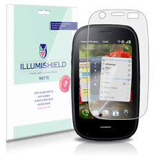 iLLumiShield Matte Screen Protector w Anti-Glare/Print 3x for Palm Pre 2