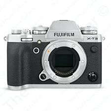 Fujifilm X-T3 Digital Camera 16588509 26.1MP 4K WiFi HDMI USB-C Silver BODY ONLY