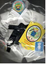 Madeline 15 inch Doll Ragdoll Karate Judo Outfit Eden Headband Black Belt  New
