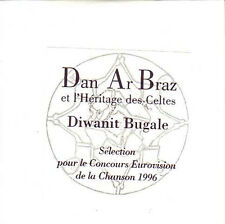 CD SINGLE EUROVISION 1996 France : Dan Ar Braz	Diwanit Bugale PROMO CARD SLEEVE