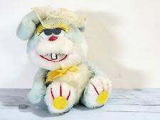 "1983 Spearhead Marketing Bunny Rabbit Stuffed Animal Plush Toy 8"", Silly Rabbit"