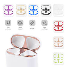 ForApple Air pods Pair Metal Film Sticker Dust Guard Iron Shavings Protector New