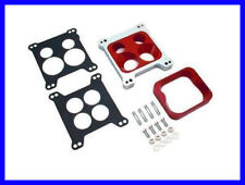 """a PERFORMANCE 2 IN 1 PHENOLIC CARBY SPACER ADAPTER PLATE 1"""" HOLLEY EDELBROCK AFB"""