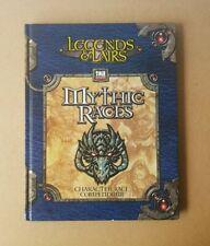 Legends & Lairs Mythic Races Character Race Compendium D20 D&D RPG Sourcebook