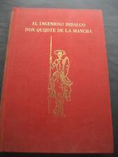 LIBRO DON QUIJOTE DE LA MANCHA. ED. PEREZ DEL HOYO 1969