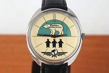 NEW RAKETA BURAN wristwatch Russian mechanical men's