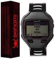 Skinomi Brushed Steel Watch Skin+Screen Protector for Garmin Forerunner 910XT