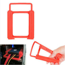 2.5 to 3.5 Adapter Bracket SSD HDD Notebook Mounting Tray Caddy Bay Post Red DIY