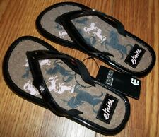 ab3f5d51c Etnies Flats Black Pink Youth Girls Sandals Flip Flops Size 12 Brand New