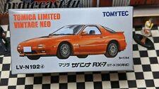 TOMICA LV-N192d MAZDA SAVANNA RX-7 GT-X 1:64 SCALE LIMITED VINTAGE NEO