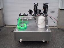mobile lube oil change van or trailer equipment