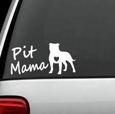 M1103 Pit Mama Pit Bull Pitbull Dog Decal Sticker Car Truck SUV Van Art Pit Mom