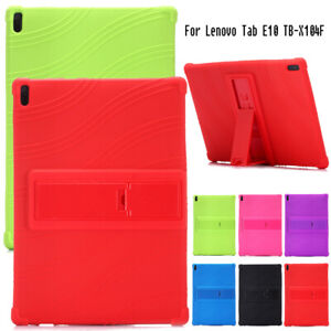 Shockproof Kids Case For Lenovo Tab E10 TB-X104 10.1'' Silicone Stand Soft Cover