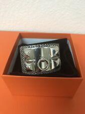 NEW Authentic Hermes CDC Bracelet Lizard Ombré Sz Small X Stamp