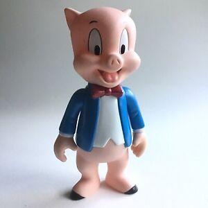 "Looney Tunes Porky Pig 8"" Articulated Vinyl Figure WB Warner Bros. 1995 Vintage"
