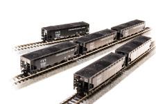 C&O H7-13 ARA 70-ton 4-Bay Hopper 6-Pack N - Broadway Limited #3185 vmf121