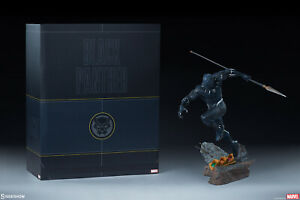 Marvel's BLACK PANTHER T'Challa 1:5 ASSEMBLE STATUE by SIDESHOW #310/1000_SEALED