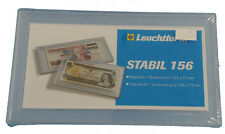 Clear Snaplock Currency Holder - Hard Plastic Holder for Banknote - Regular Size
