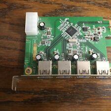 Anker Uspeed PCI-E to USB 3.0 4 Port Express Card W/ 4 USB 3.0 Ports X000B0Q1G7