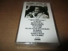 SEALED 1990 SAMMY DAVIS Jr. Greatest Songs Cassette Tape Curb 77272
