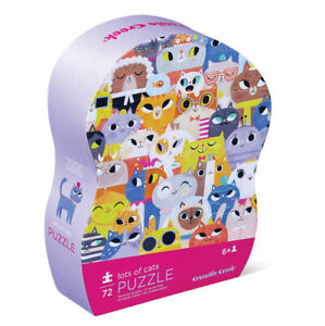 Junior Puzzle 72 pc - Lots of Cats by Crocodile Creek 6 +
