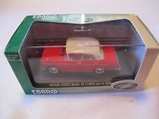 Ebbro Oldies 1:43 1960 Nissan Cedric Model 30 Sedan Diecast Red New 1 Of 3000