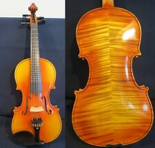 Strad Style SONG maestro 5string inlay Frets 4/4 violin,powerful sound #11891