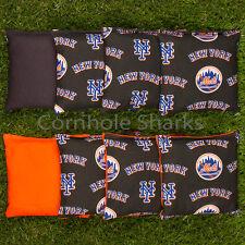 Cornhole Bean Bags Set of 8 ACA Regulation Bags New York Mets Free Shipping