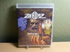 Zardoz Sean Connery Twilight Time Blu-Ray Limited Edition of 3,000 New OOP