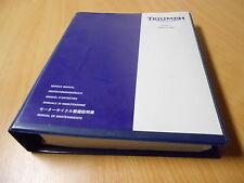 Service manual Werkstatthandbuch Triumph Sprint ST (6) / ABS -  Modell 2007