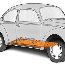1973-1979 Volkswagen Beetle/Super Beetle 22 Gauge RH Floor Pan Half 384767