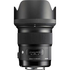 Sigma 50mm f/1.4 DG HSM Art Lens for Canon EF - Sigma USA Authorized Dealer!