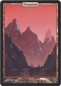 TCG MtG 184 Magic the Gathering Unhinged Full Art Land Mountain