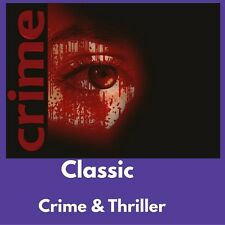 Crime & Thriller e-Book Collection Kindle~eReader~Nook~Kobo|FREE BONUS|Data DVD