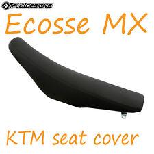 KTM SX65 2009-2015 FLU DESIGNS PINZA COPRISELLA NERO MOTOCROSS