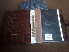 Filofax A5 Organiser 26017 Croc Classic, Chestnut BRAND NEW