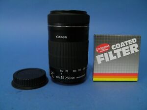 Canon Zoom Lens EF-S 55/250mmf4-5.6 IS STM