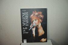 Book Photo Mylene Farmer Belle Scene Concert K&b Vintage Wagner