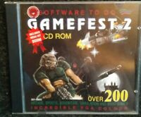 Gamefest 2 Game Fest Software to Go Games CD-Rom PC Windows 95 Very Rare