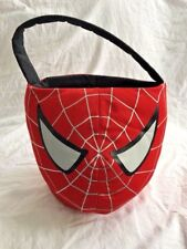 "Halloween Spider-Man 3 2006 Plush Basket Bucket 8"" Spiderman Marvel"