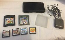 Nintendo ds lite bundle, 6 Games, 1 Storage Case And AC Adapter - Works Great
