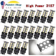 20Pcs White 3157 3156 High Power 5050Chips 24SMD LED Interior Back UP Reverse