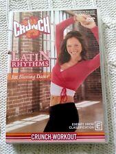 CRUNCH LATIN RHYTHMS - FAT BLASTING DANCE – DVD, R-4, VERY GOOD, FREE POSTAGE